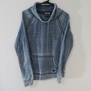 Roxy Sweat shirt Cowl Neck Marbled Look